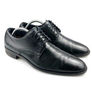 Cole Haan Mens Lenox Hill Black Oxford Shoes 9.5